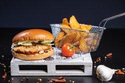 COMBO burger crispy image