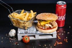 Meniu royal dublu burger image