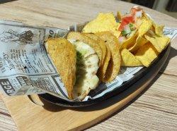 Tacos de veggie & nachos